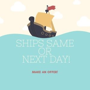 Other - 🛳 Fast Shipping! Willing to wheel and deal! ⚓